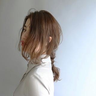 大人かわいい 外国人風 アッシュ ストリート ヘアスタイルや髪型の写真・画像