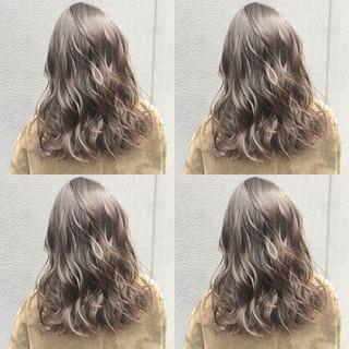 アッシュ 透明感カラー ヘアカラー 透明感 ヘアスタイルや髪型の写真・画像