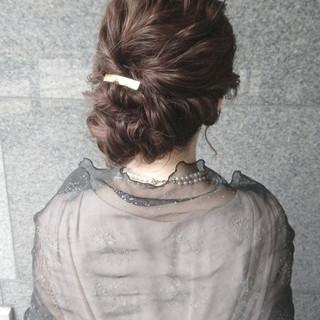 ミディアム ショート ハーフアップ 簡単ヘアアレンジ ヘアスタイルや髪型の写真・画像