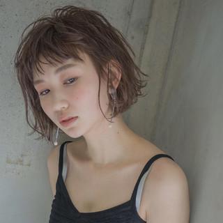 ニュアンス 大人女子 色気 ボブ ヘアスタイルや髪型の写真・画像
