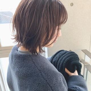 モテボブ パーマ ボブ ヘアスタイルや髪型の写真・画像