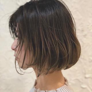 ストリート ラフ ボブ ブリーチ ヘアスタイルや髪型の写真・画像