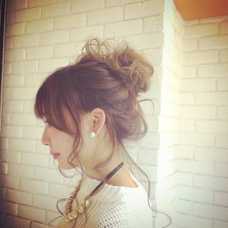 ヘアアレンジ ロング ショート 簡単ヘアアレンジ ヘアスタイルや髪型の写真・画像