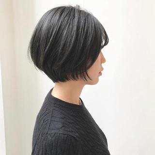 マッシュショート ショート ハンサムショート ショートボブ ヘアスタイルや髪型の写真・画像