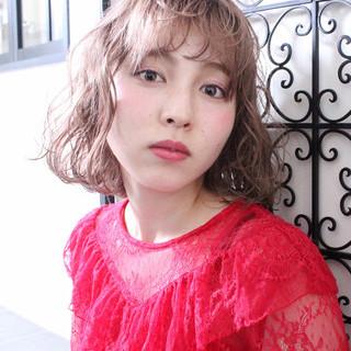ウェーブ アンニュイ ナチュラル 色気 ヘアスタイルや髪型の写真・画像