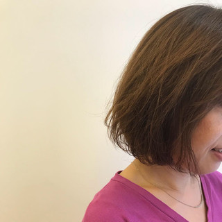 オフィス 透明感 エフォートレス フェミニン ヘアスタイルや髪型の写真・画像