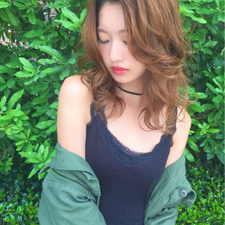 涼しげ 外国人風 色気 ヘアアレンジ ヘアスタイルや髪型の写真・画像