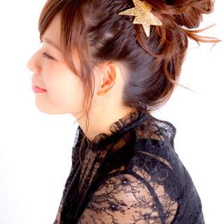 ショート 簡単ヘアアレンジ ロング 大人かわいい ヘアスタイルや髪型の写真・画像