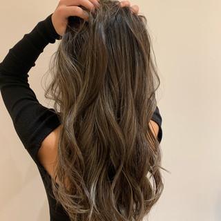 黒髪 ロング ヘアアレンジ ナチュラル ヘアスタイルや髪型の写真・画像