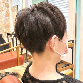 ショート ベリーショート レイヤースタイル ショートボブ ヘアスタイルや髪型の写真・画像