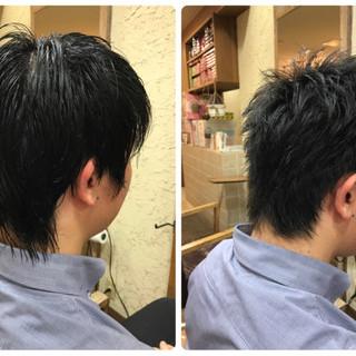 黒髪 オフィス ショート ストリート ヘアスタイルや髪型の写真・画像