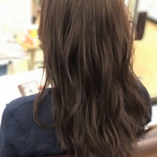 ウェーブ ナチュラル デート 女子会 ヘアスタイルや髪型の写真・画像