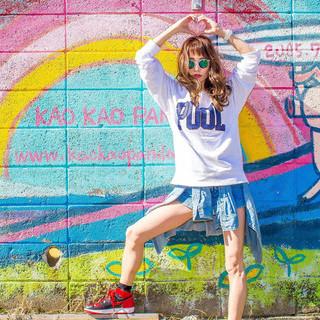 ショートバング 大人女子 ウェーブ ロング ヘアスタイルや髪型の写真・画像