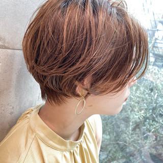 小顔ショート アッシュ ショートボブ ショート ヘアスタイルや髪型の写真・画像