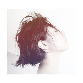 外国人風 グラデーションカラー 暗髪 ショート ヘアスタイルや髪型の写真・画像