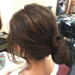 外国人風カラー グレージュ 外国人風 ヘアアレンジ ヘアスタイルや髪型の写真・画像