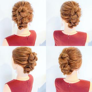 夏 色気 ヘアアレンジ ロング ヘアスタイルや髪型の写真・画像