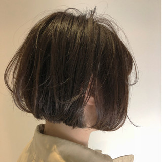 オフィス ナチュラル 大人女子 ボブ ヘアスタイルや髪型の写真・画像