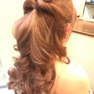 編み込み 簡単ヘアアレンジ 結婚式 ショート ヘアスタイルや髪型の写真・画像