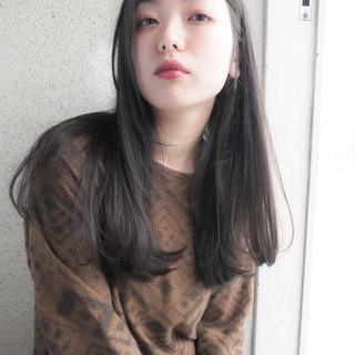 ロング 秋 透明感 大人かわいい ヘアスタイルや髪型の写真・画像
