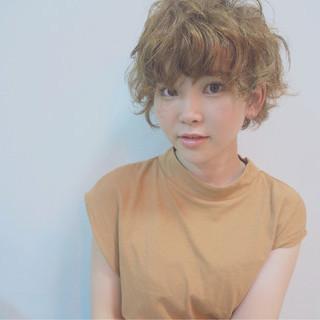 ゆるふわ パーマ ガーリー ヘアアレンジ ヘアスタイルや髪型の写真・画像