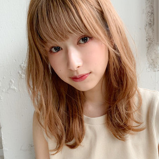 ミディアム アンニュイほつれヘア パーティ 大人かわいい ヘアスタイルや髪型の写真・画像