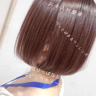 ミニボブ ボブ ショートボブ ショートヘア ヘアスタイルや髪型の写真・画像
