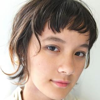 ヘアアレンジ 外国人風 ハイライト ハーフアップ ヘアスタイルや髪型の写真・画像