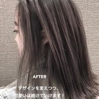 外国人風 ボブ ストリート 外国人風カラー ヘアスタイルや髪型の写真・画像