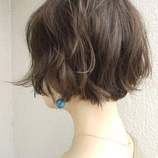 ゆるふわ 女子力 大人かわいい ショート ヘアスタイルや髪型の写真・画像