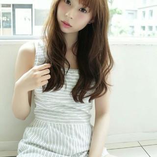 大人かわいい ゆるふわ 大人女子 フェミニン ヘアスタイルや髪型の写真・画像