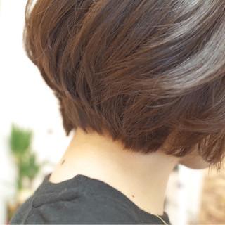 大人女子 ボブ 大人かわいい ラベンダーアッシュ ヘアスタイルや髪型の写真・画像