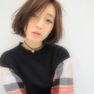 モテ髪 透明感 ナチュラル フェミニン ヘアスタイルや髪型の写真・画像