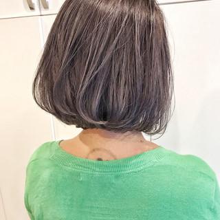 外国人風 ヘアアレンジ 外国人風カラー ボブ ヘアスタイルや髪型の写真・画像