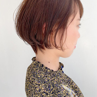 大人かわいい デート オフィス ショートヘア ヘアスタイルや髪型の写真・画像