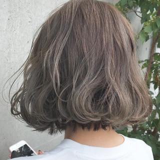 ボブ ストリート 外国人風 外国人風カラー ヘアスタイルや髪型の写真・画像