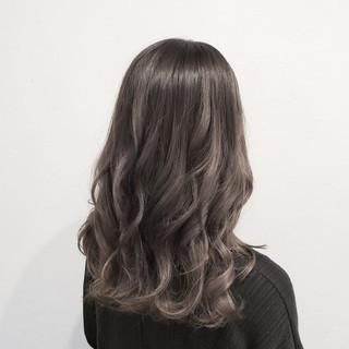 ヘアアレンジ ロング ナチュラル 透明感 ヘアスタイルや髪型の写真・画像