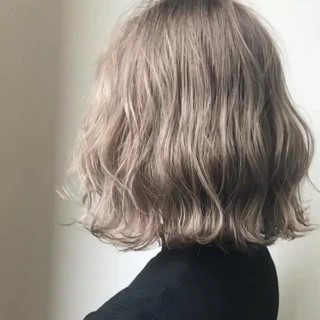 波ウェーブ ストリート ボブ 外国人風 ヘアスタイルや髪型の写真・画像