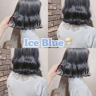 ボブ ミニボブ 韓国 ナチュラル ヘアスタイルや髪型の写真・画像