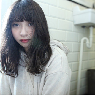 こなれ感 大人女子 小顔 ニュアンス ヘアスタイルや髪型の写真・画像