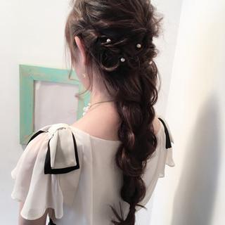ヘアアレンジ 上品 ショート 結婚式 ヘアスタイルや髪型の写真・画像