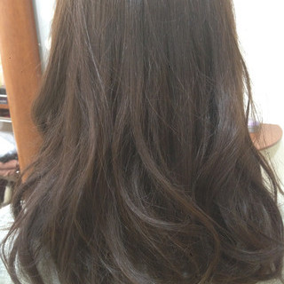 ブラウン 外国人風 ストリート ロング ヘアスタイルや髪型の写真・画像