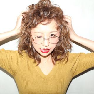 前髪あり ストリート ミディアム 外国人風 ヘアスタイルや髪型の写真・画像