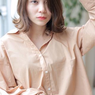 外国人風カラー 簡単ヘアアレンジ ボブ 外国人風 ヘアスタイルや髪型の写真・画像