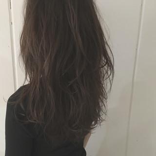 ストリート レイヤーカット ウェットヘア 暗髪 ヘアスタイルや髪型の写真・画像