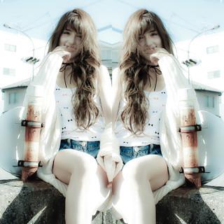 ロング 外国人風 ゆるふわ フェミニン ヘアスタイルや髪型の写真・画像