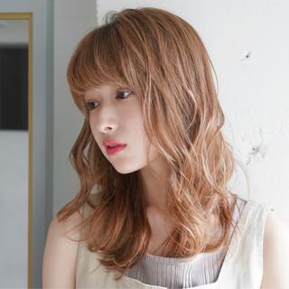 デジタルパーマ 外人風パーマ ナチュラル 外国人風カラー ヘアスタイルや髪型の写真・画像