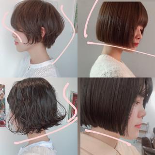 ベリーショート ナチュラル ウルフカット ショートヘア ヘアスタイルや髪型の写真・画像