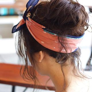 外国人風 ロング アッシュ ゆるふわ ヘアスタイルや髪型の写真・画像