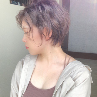 ショートヘア ショート ベリーショート フェミニン ヘアスタイルや髪型の写真・画像
